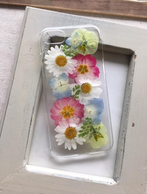 iphone7/6/6S  春が待ち遠しい押し花の...