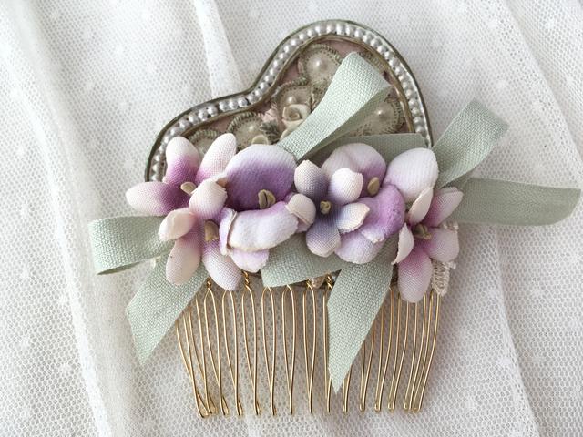 バレリーナコーム violet×green