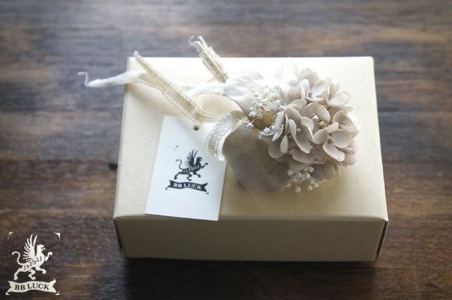 corsage【 布花コサージュ hydrangea &...