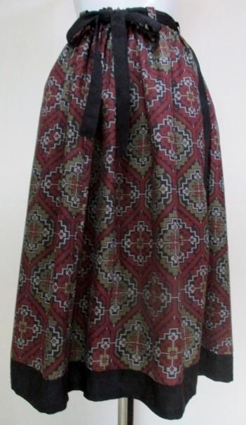 着物リメイク 着物で作ったスカート ...