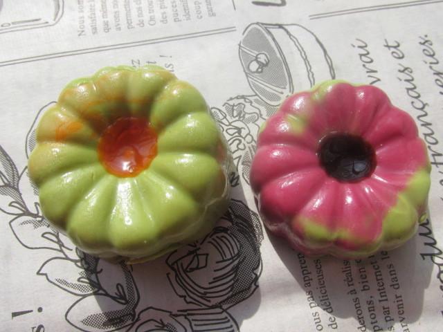 和菓子のマグネットb 二個セット 練...