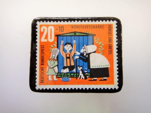 ドイツ ヘンゼルとグレーテル切手ブロ...
