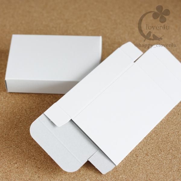ラッピングに♪小さな白い箱20枚
