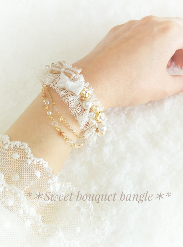 **Sweet bouquet bangle**スイートブ...