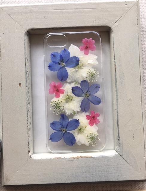 iphone7/6/6S 春よこいの押し花のケース