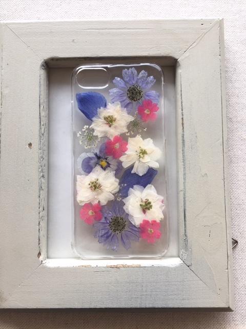 iphone7/6/6S 大人可愛い 押し花のケース