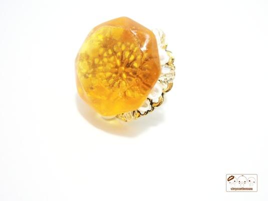 [【値下げ】宝石のようなドデカ指輪