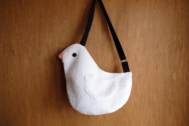 鳥さんショルダーバッグ  L      コッ...