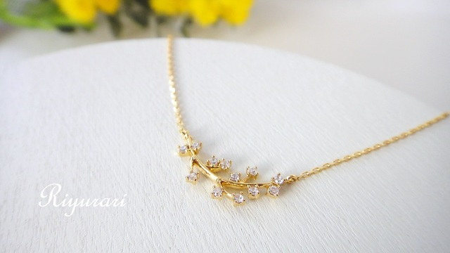 mimoza necklace