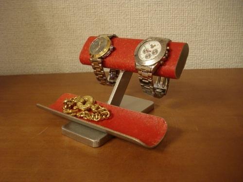 新作インテリアレッド腕時計スタンド