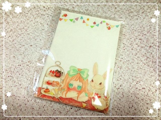 *ミニ☆アリスのティーパーティ便箋セット*