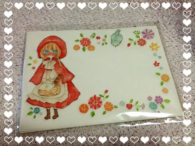 *赤ずきんちゃん便箋セット*