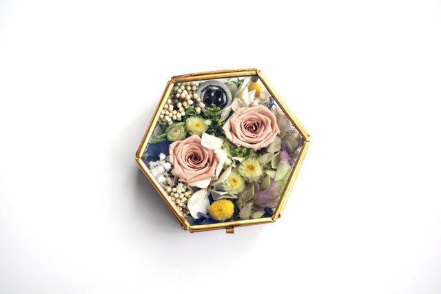 花のリングピローケース・Voie_lactée#o