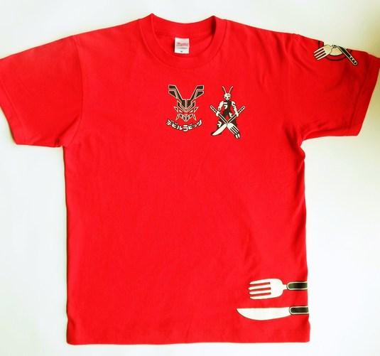 デビルラビッツTシャツ(イタリアンレッド)