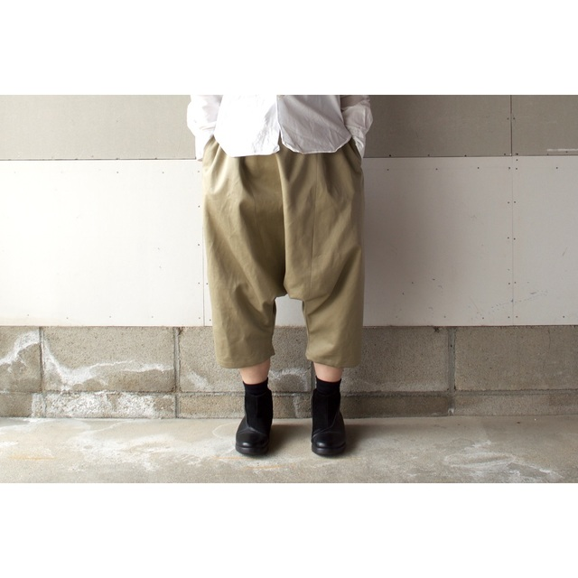 SARROUEL PANTS CHINOS BEIGE【M~L】