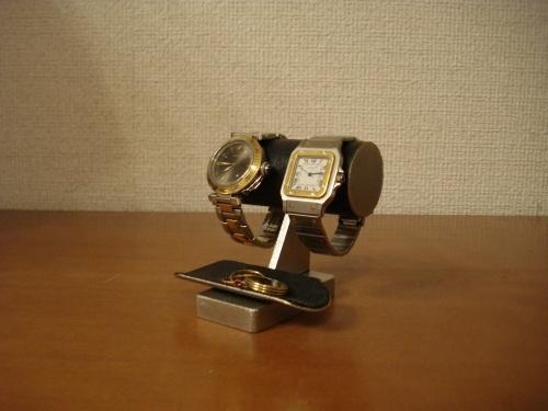 チビ!ブラックトレイ付き腕時計スタンド