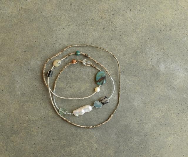 いろいろ天然石のネックレス