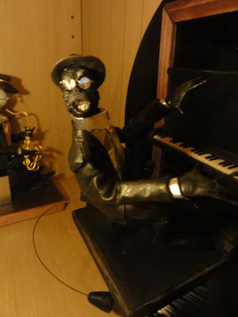 jazz・・人形 ヤジロベー レコード盤...