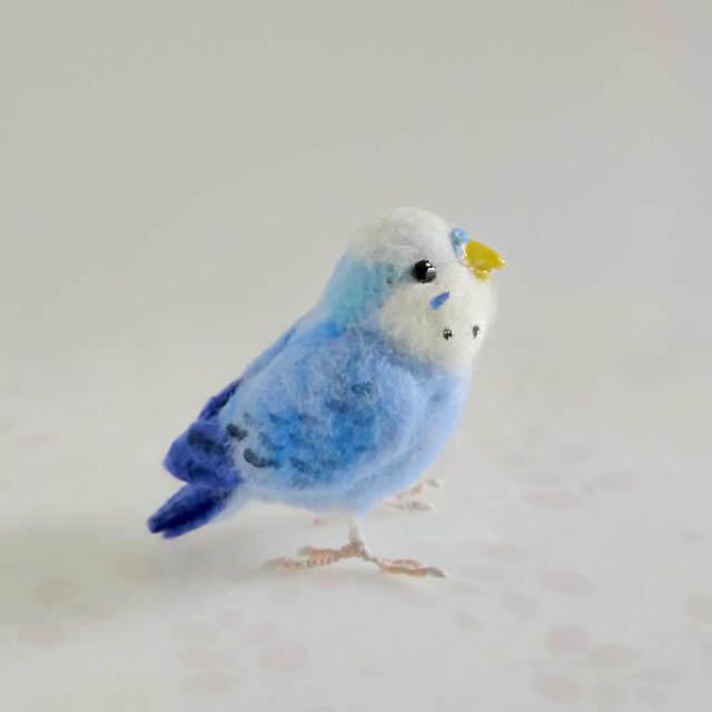 【mi様ご注文分】羊毛フェルトの小鳥 ...