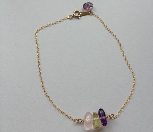 spring color bracelet