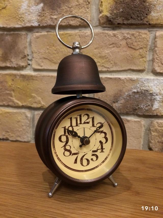 目覚まし時計付きシリーズ 第2弾 笠つき吊りさげフック       マットブラウン(艶消しこげ茶)