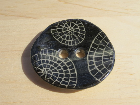 spiral shell ボタン no,1