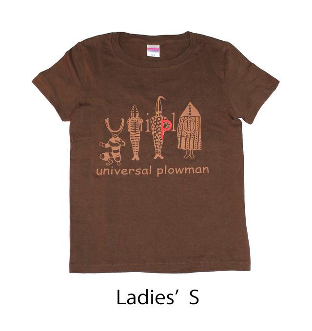 ユニクロっぽいヤーガン族Tシャツ レディス(S M L)