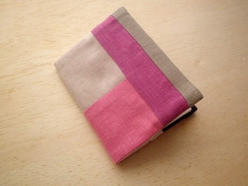 minimini note cover (pink)
