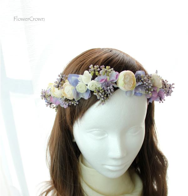 花かんむり +パープル+