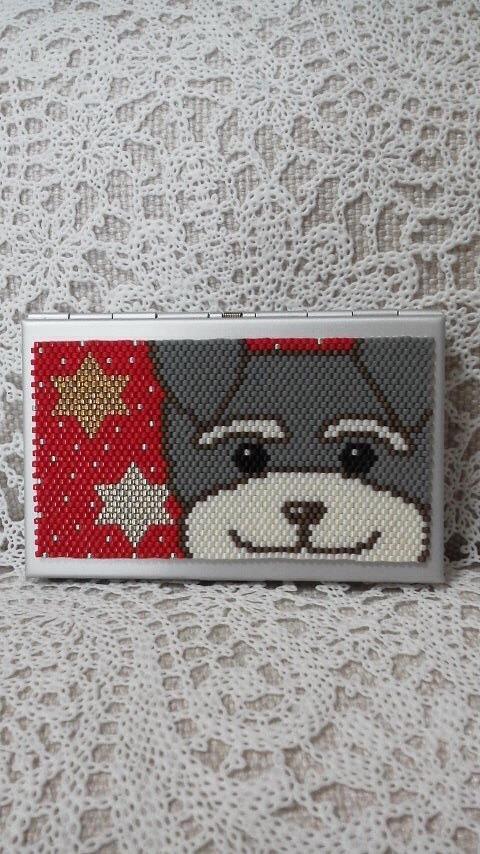 カードケース(シュナウザー?)