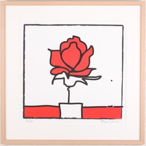 POP薔薇?−RED・Square−L