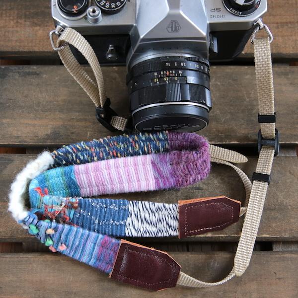 <3/8再販>ヤーンのカメラストラップ#8