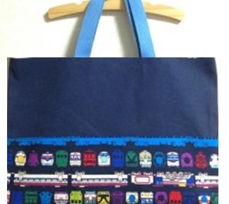 【セミオーダー】電車のレッスンバッグ