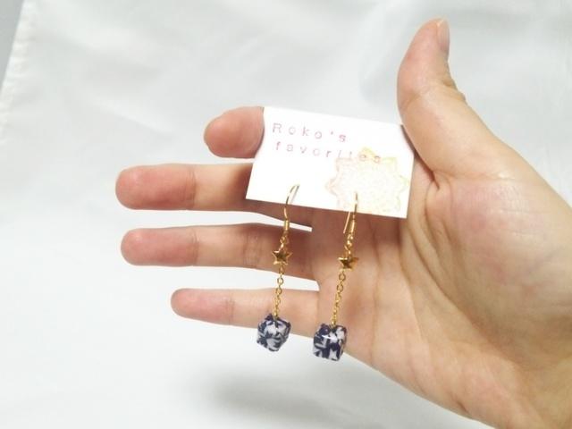 クリスマス 折り紙 折り紙 立方体 : minne.com