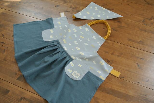 130cmお子様エプロン&三角巾(RYTM様ご...