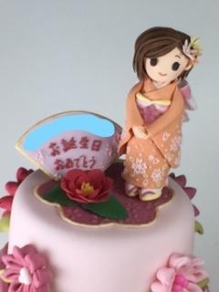 オーダー品 ピンクの和風シュガークラ...