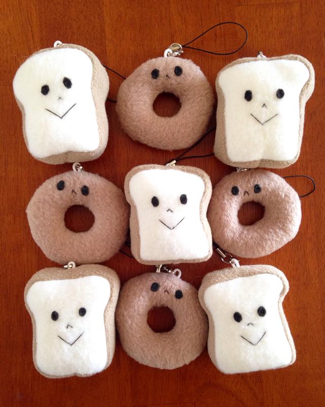 食パンとベーグル ひも付セット□◎□◎