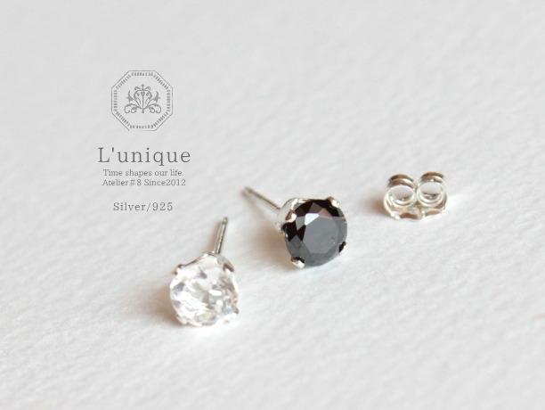 L'unique/Silver925ピアス For Men and Women