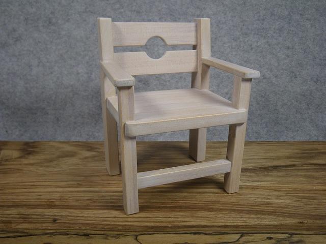 品番1703ミニ肘掛椅子マル