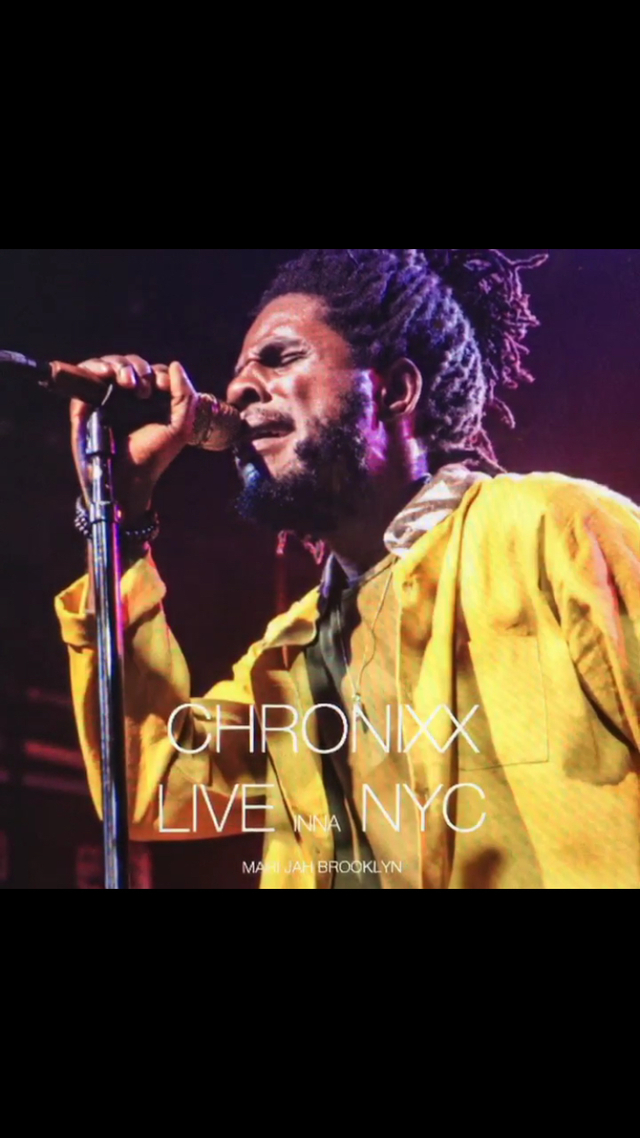 CHRONIXX  LIVE INNA NYC 写真集
