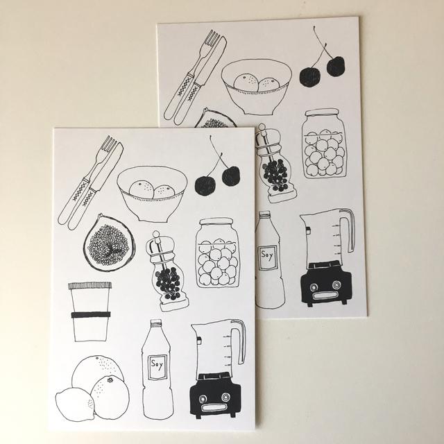 ポストカード(kitchen)