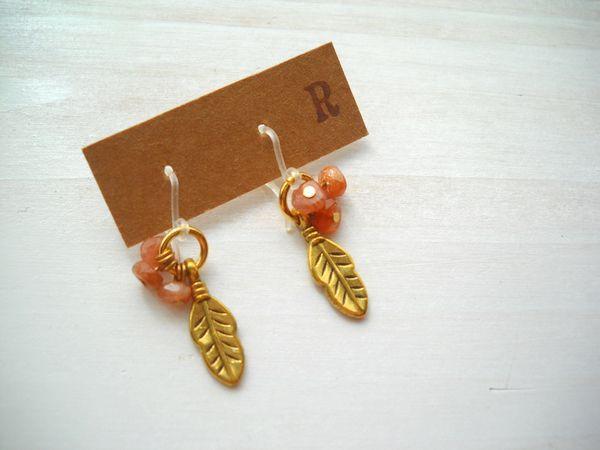 desolate pierced earrings