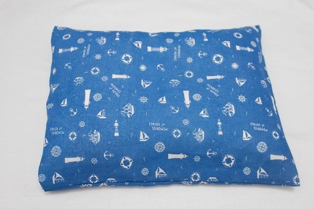 再販☆子供用枕 カバー マリン