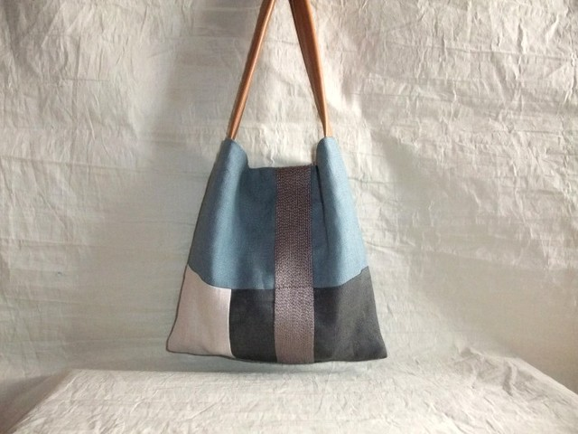 itoiro mini bag (smoky blue)