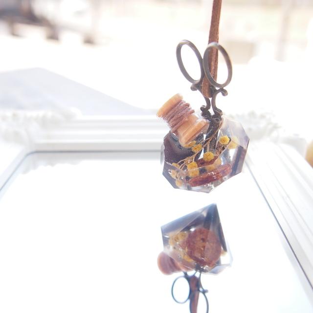 ソーイングセットネックレス(ダイヤ型)