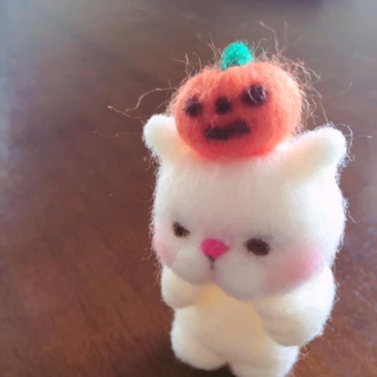 羊毛猫さんのハロウィン