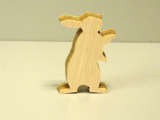 木製置物 うさぎ