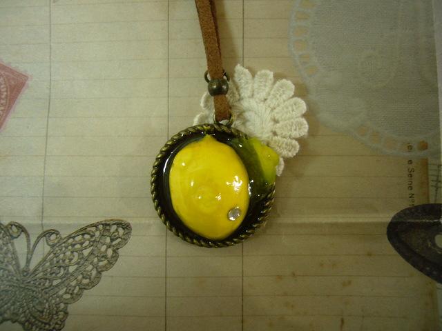 フレッシュレモンになりたいネックレス