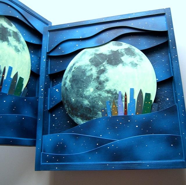 ■再制作できます■直径30cmの月光は迫...