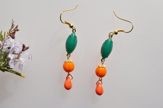 green&orange◆Spring*colorful◇ピア...